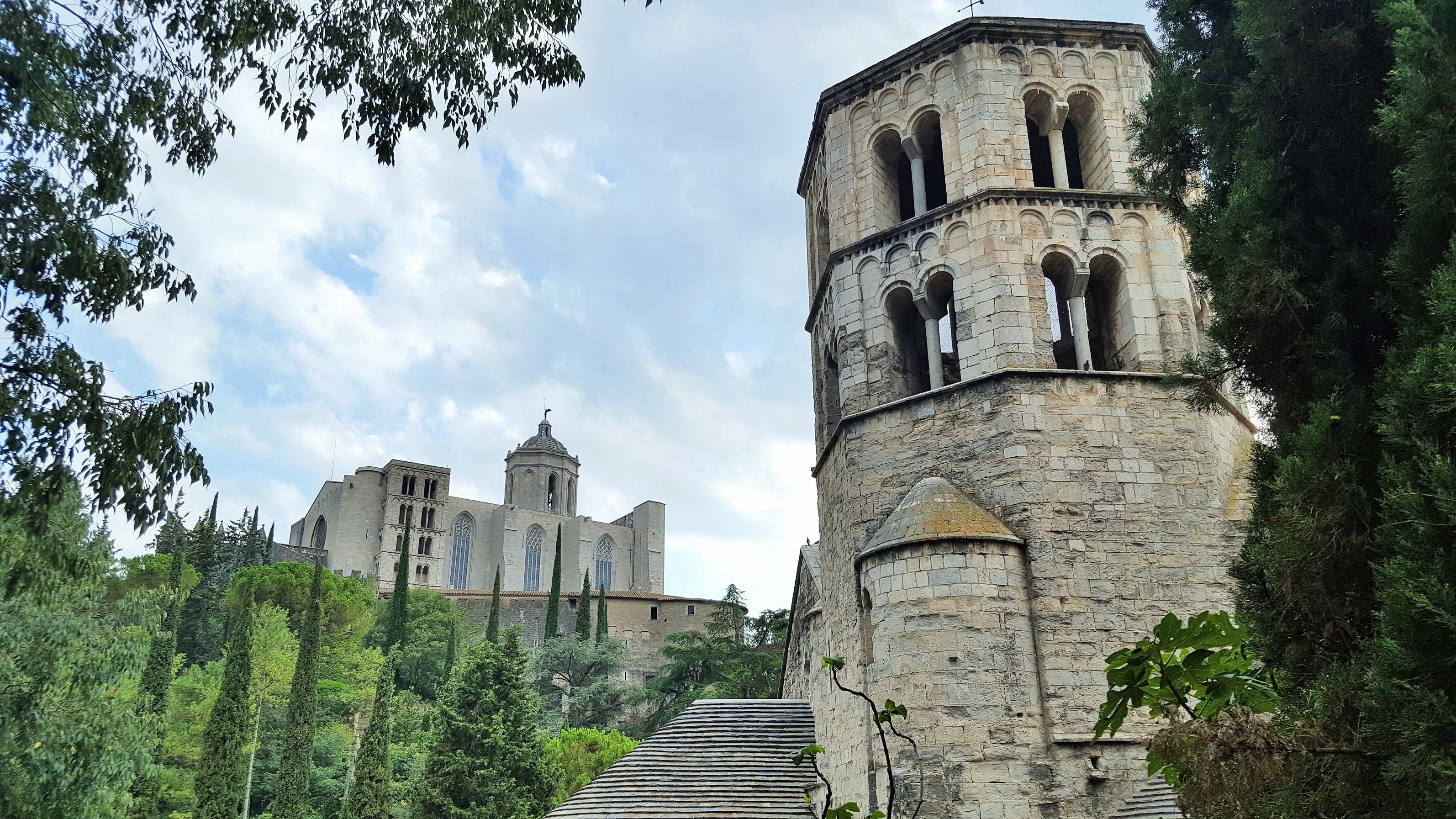 Widok na klasztor