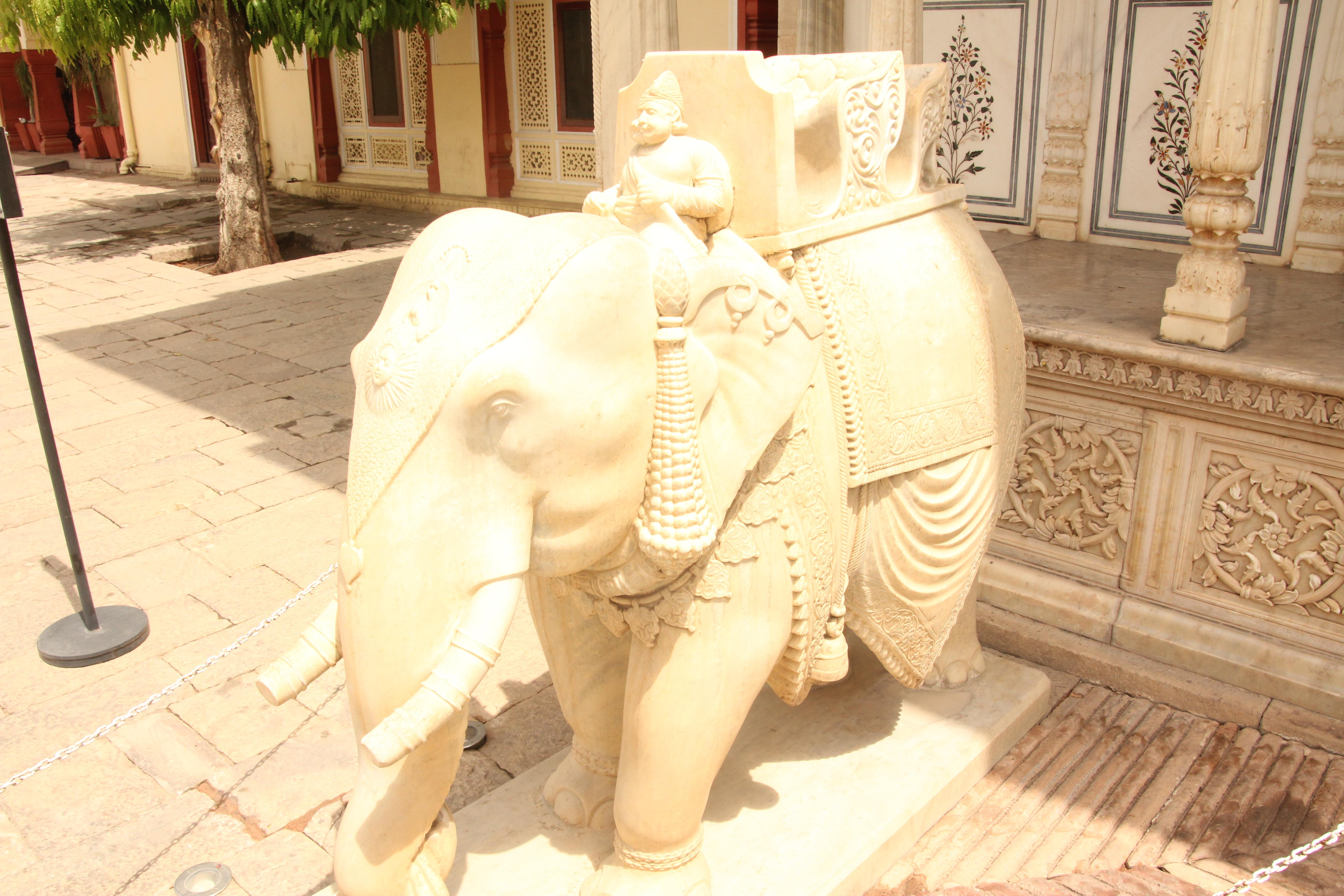 Pałac Miejski w Jaipurze (zdj. Krzysztof Bońkowski)