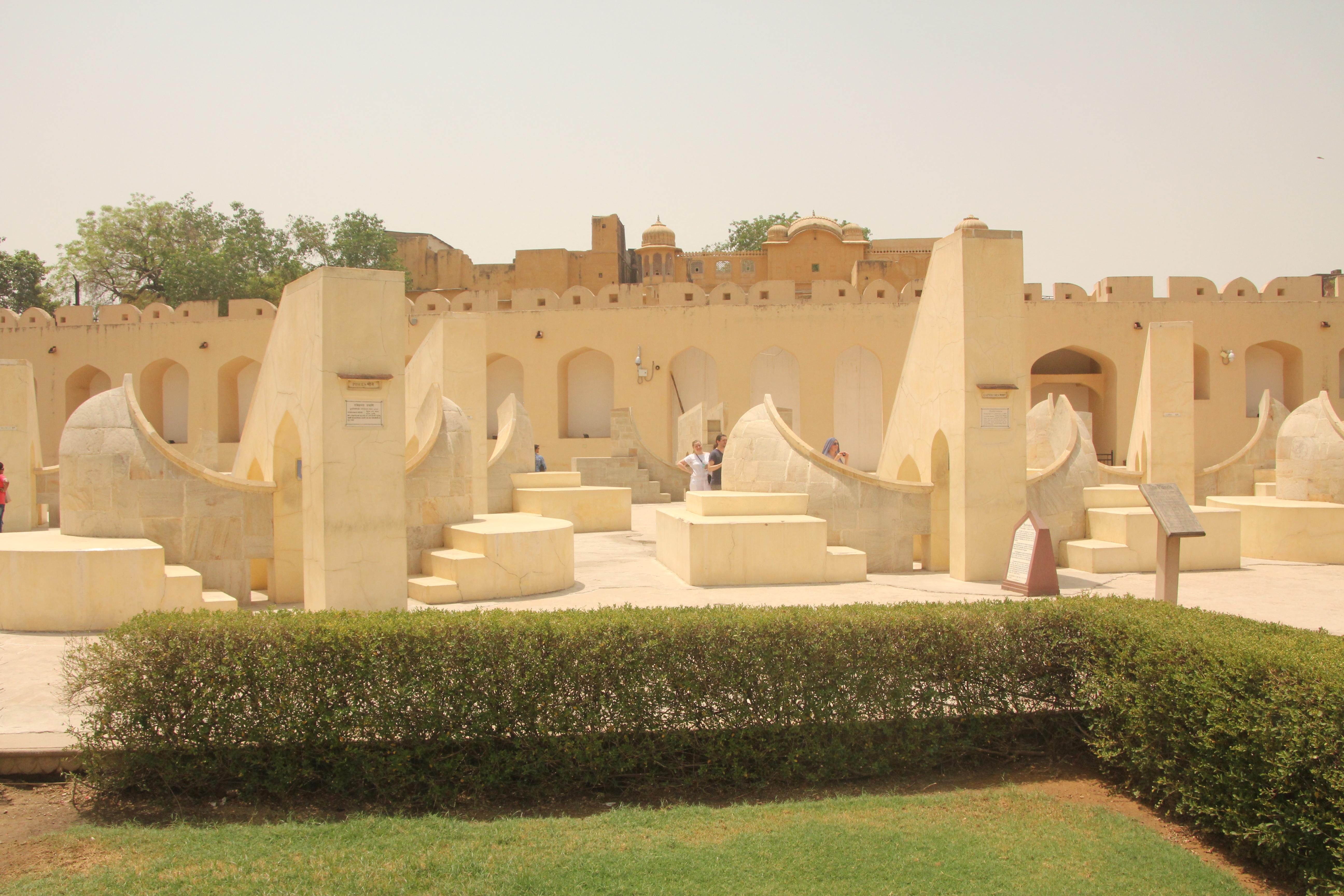 Jantar Mantar w Jaipurze (zdj. Krzysztof Bońkowski)