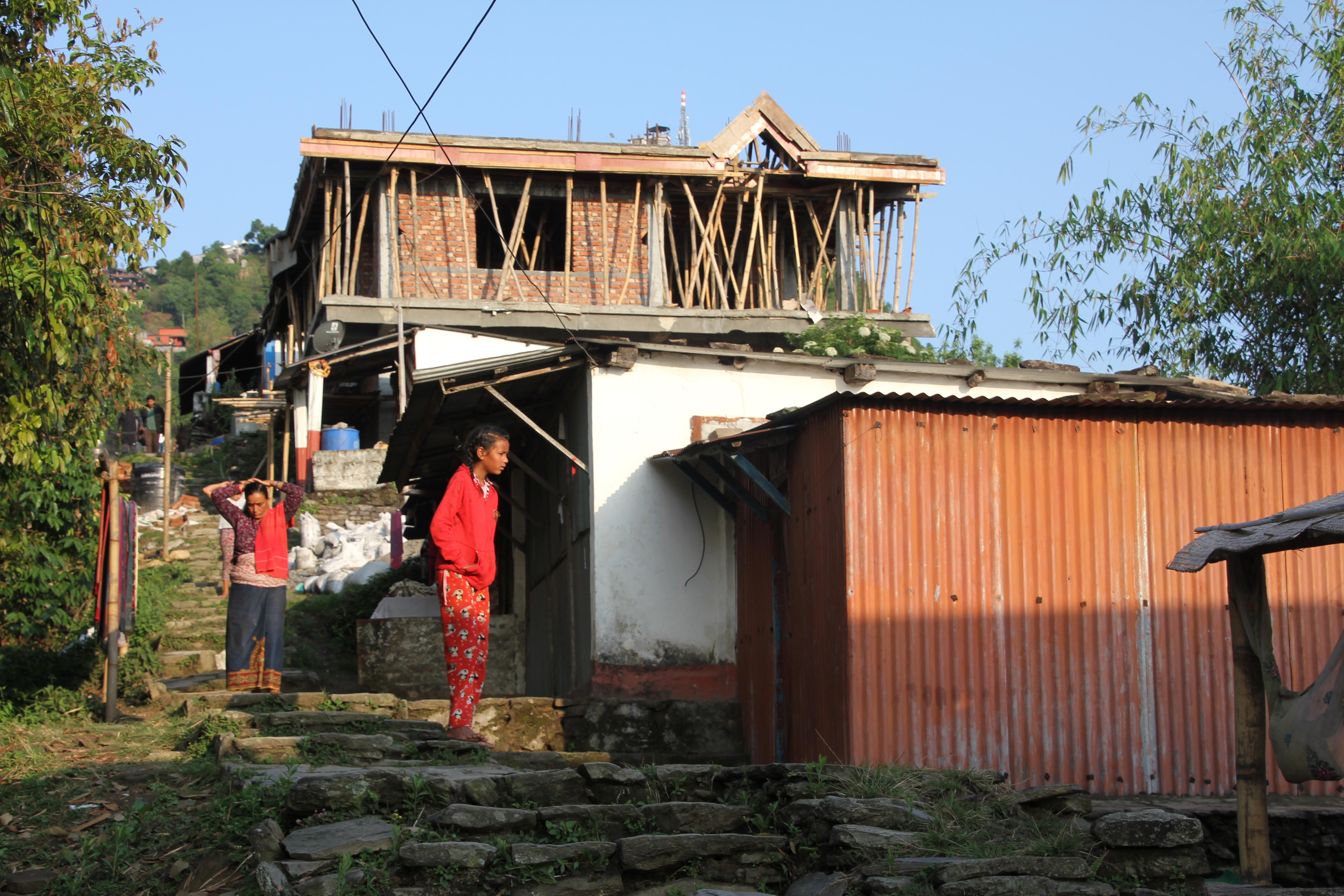 Mieszkańcy Pokhary
