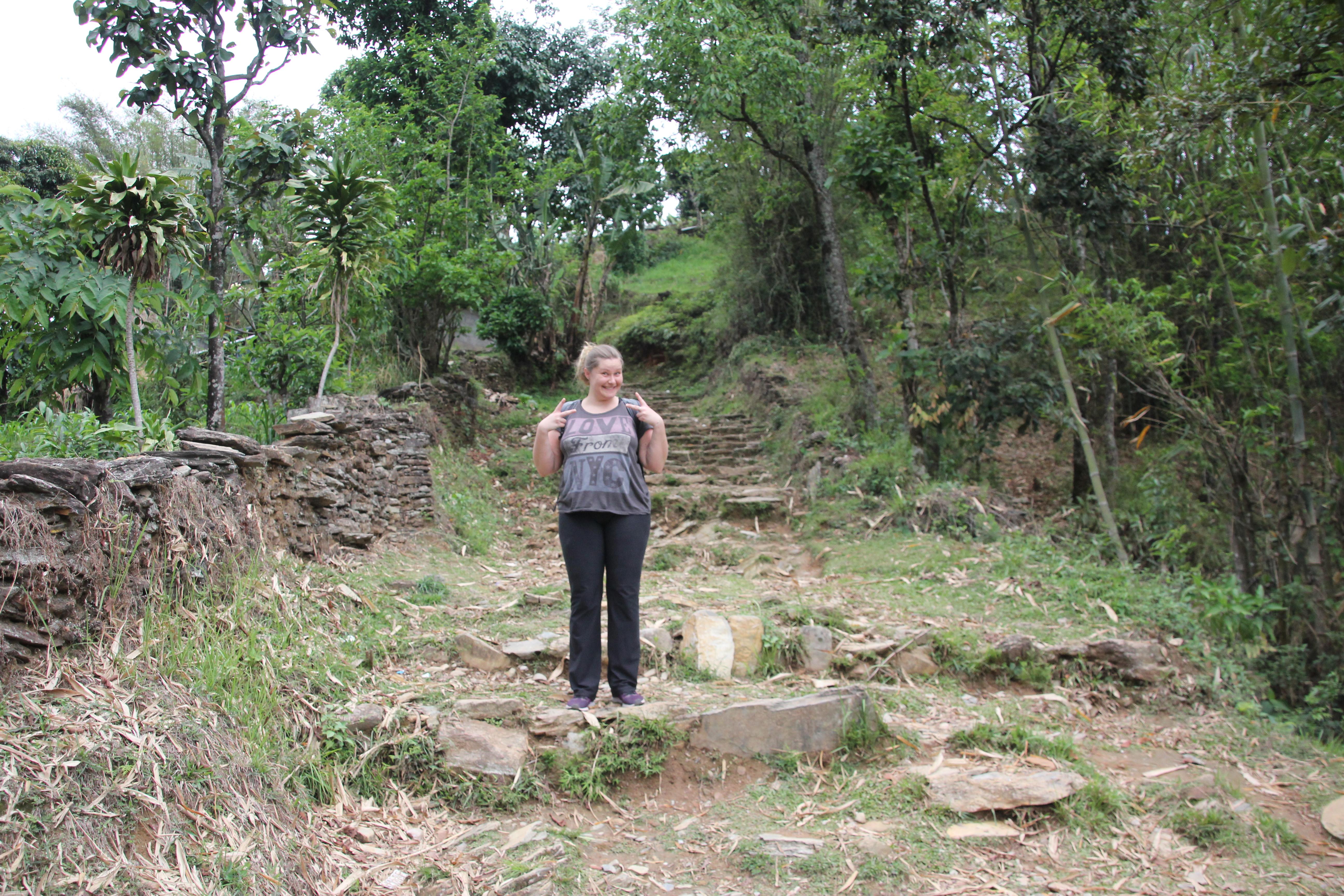 Trekking do Pokhara World Peace Pagoda