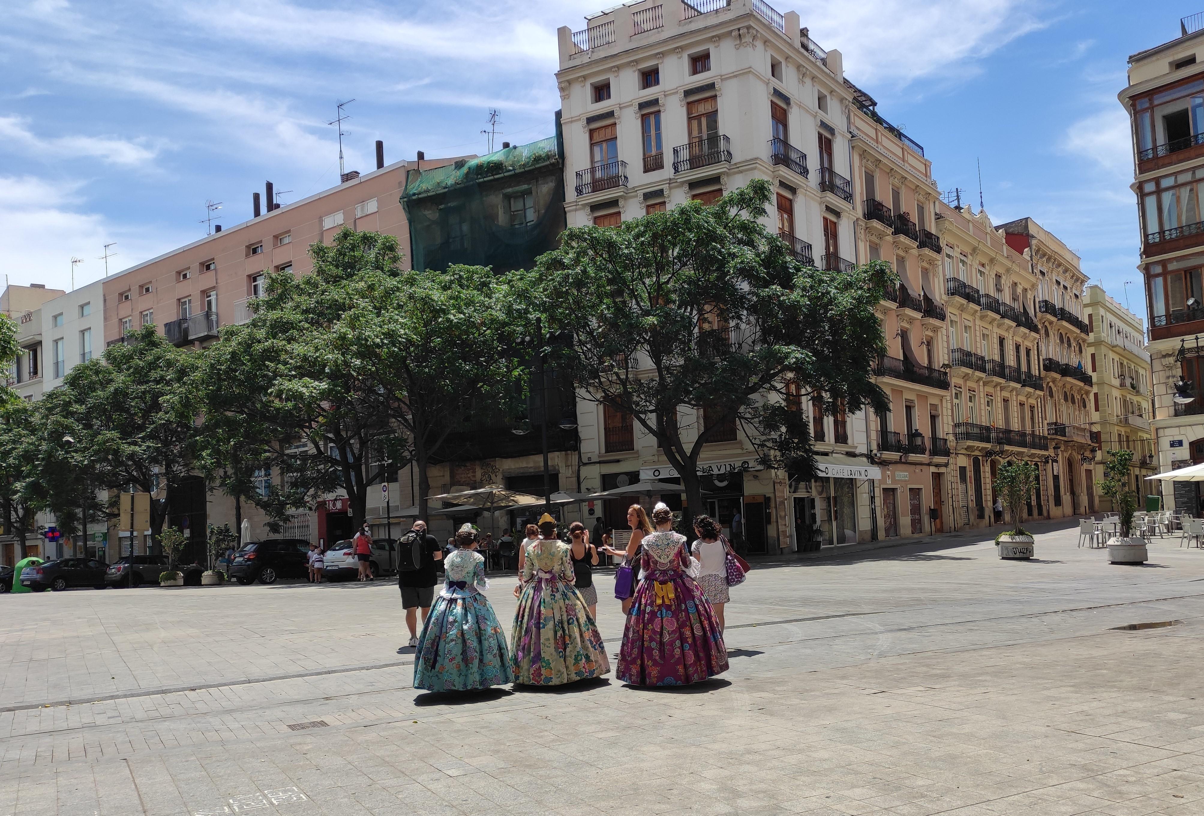 Stroje kobiet z Walencji